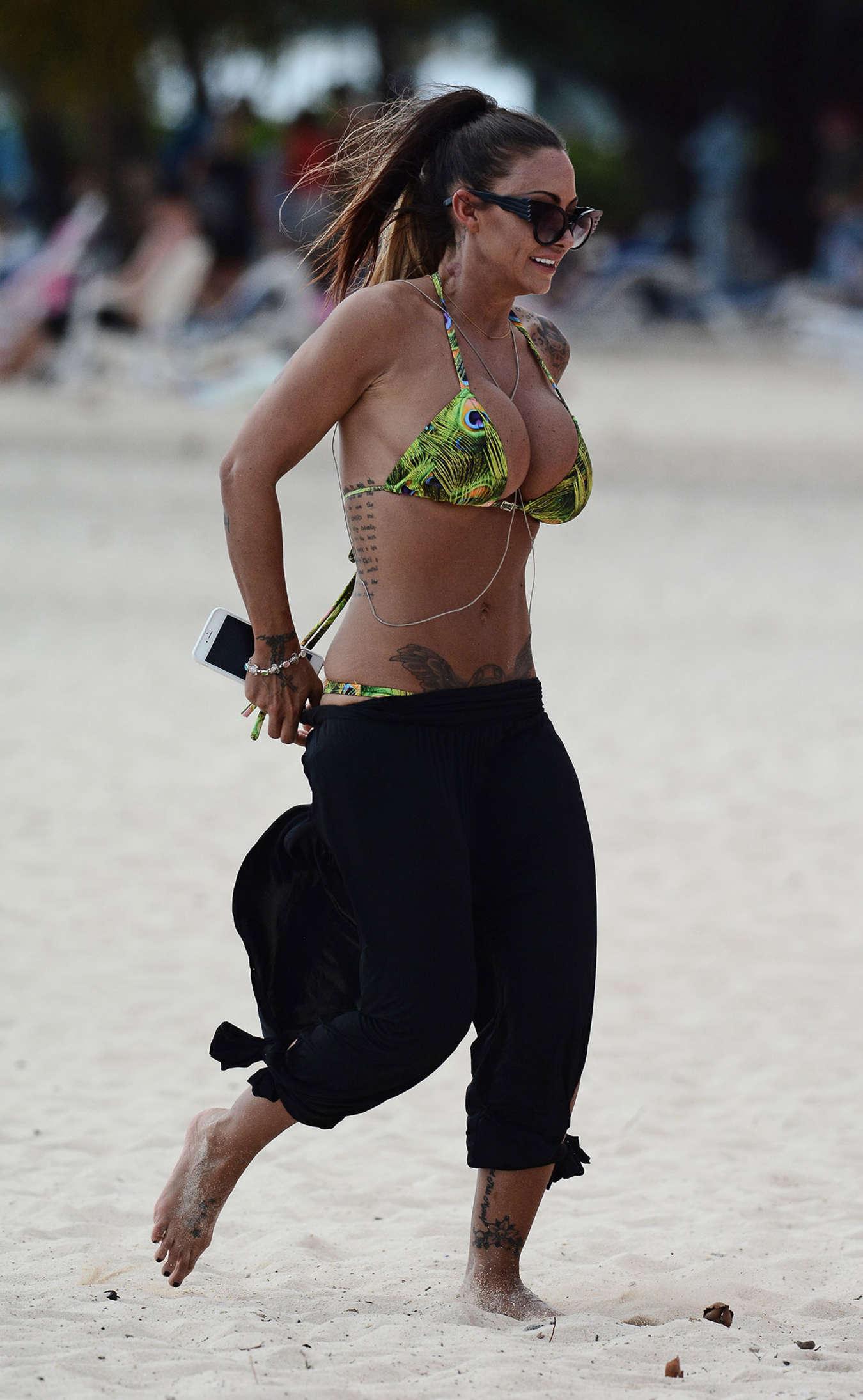 Jodie Marsh 2015 : Jodie Marsh in Bikini -02