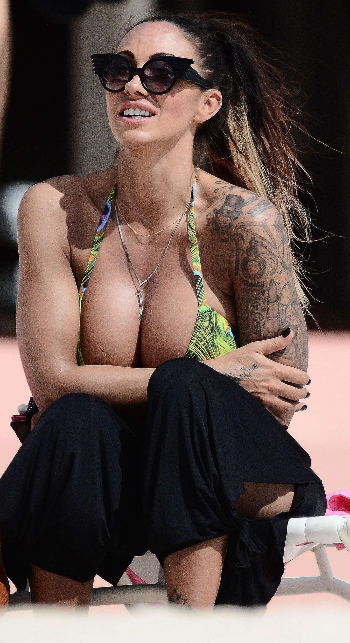 Jodie Marsh 2015 : Jodie Marsh in Bikini -07