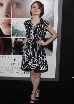 "Joey King - Premiere ""If I Stay"" in LA"