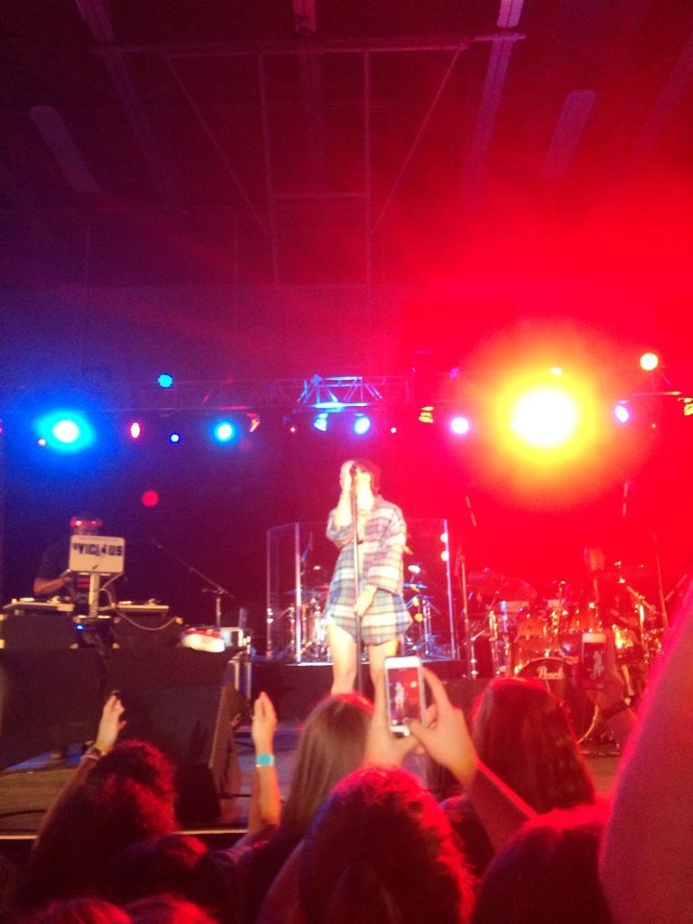 JoJo Levesque 2014 : Jojo Levesque: Performs Live at American University -03