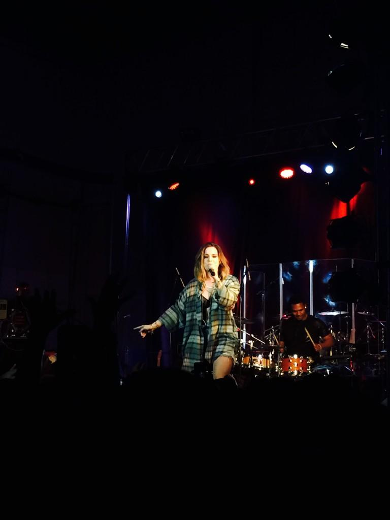 JoJo Levesque 2014 : Jojo Levesque: Performs Live at American University -09
