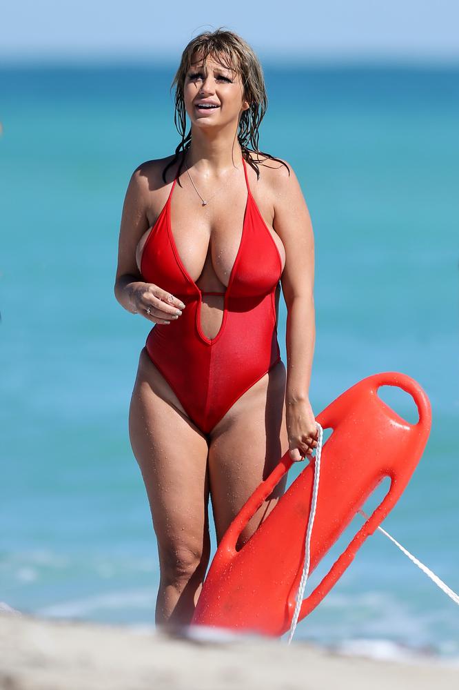 Jolena Forde Swimsuit Photos 2014 In Miami -07  Gotceleb-5774