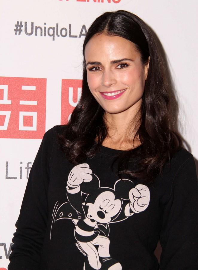 Jordana Brewster - UNIQLO Beverly Center flagship store opening in LA