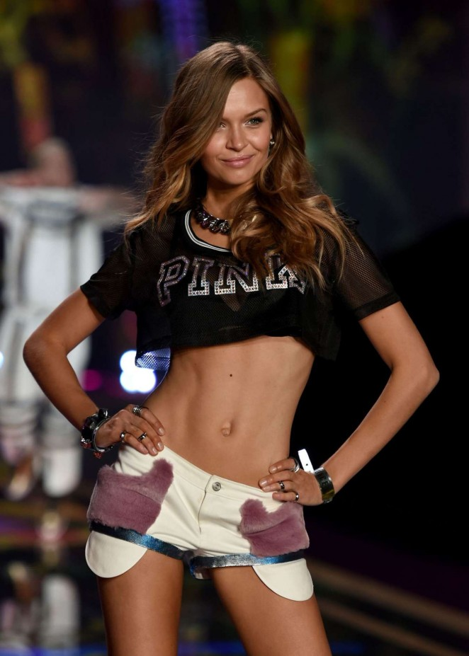 Josephine Skriver - 2014 Victoria's Secret Fashion Show Runway in NYC