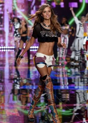 Josephine Skriver: 2014 VS Fashion Show Runway -02