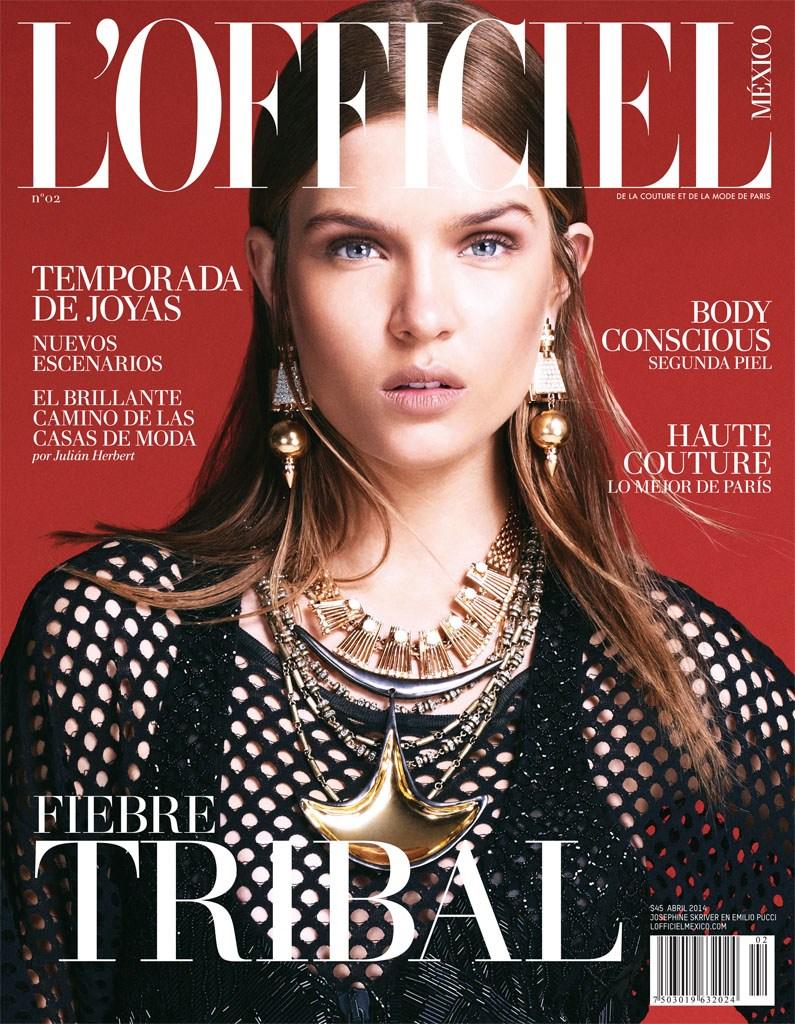 Josephine Skriver 2014 : Josephine Skriver: LOfficiel Mexico -07