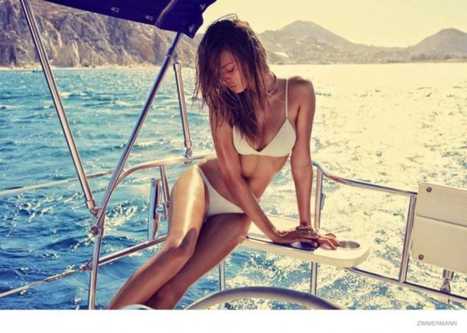 Josephine Skriver - Zimmermann Swimsuit 2015 Campaign
