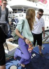 Joss Stone - Seen boarding a Yacht in the Cannes -04