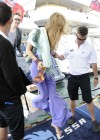 Joss Stone - Seen boarding a Yacht in the Cannes -05
