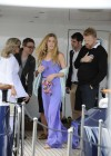 Joss Stone - Seen boarding a Yacht in the Cannes -07