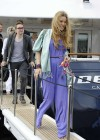 Joss Stone - Seen boarding a Yacht in the Cannes -10