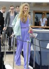 Joss Stone - Seen boarding a Yacht in the Cannes -11