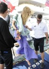 Joss Stone - Seen boarding a Yacht in the Cannes -17