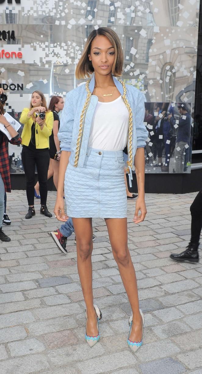 Jourdan Dunn Somerset House For London Fashion Week 2014 01 Gotceleb