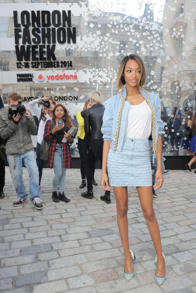 Jourdan Dunn Somerset House For London Fashion Week 2014 13 Gotceleb