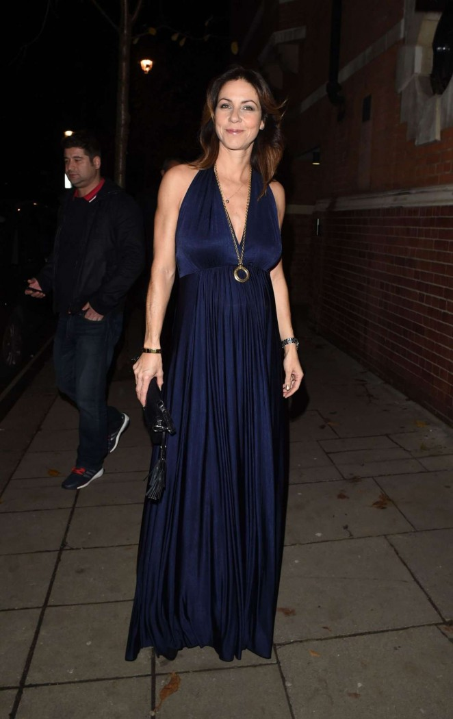 Julia Bradbury at Katie Piper Foundation Ball in London