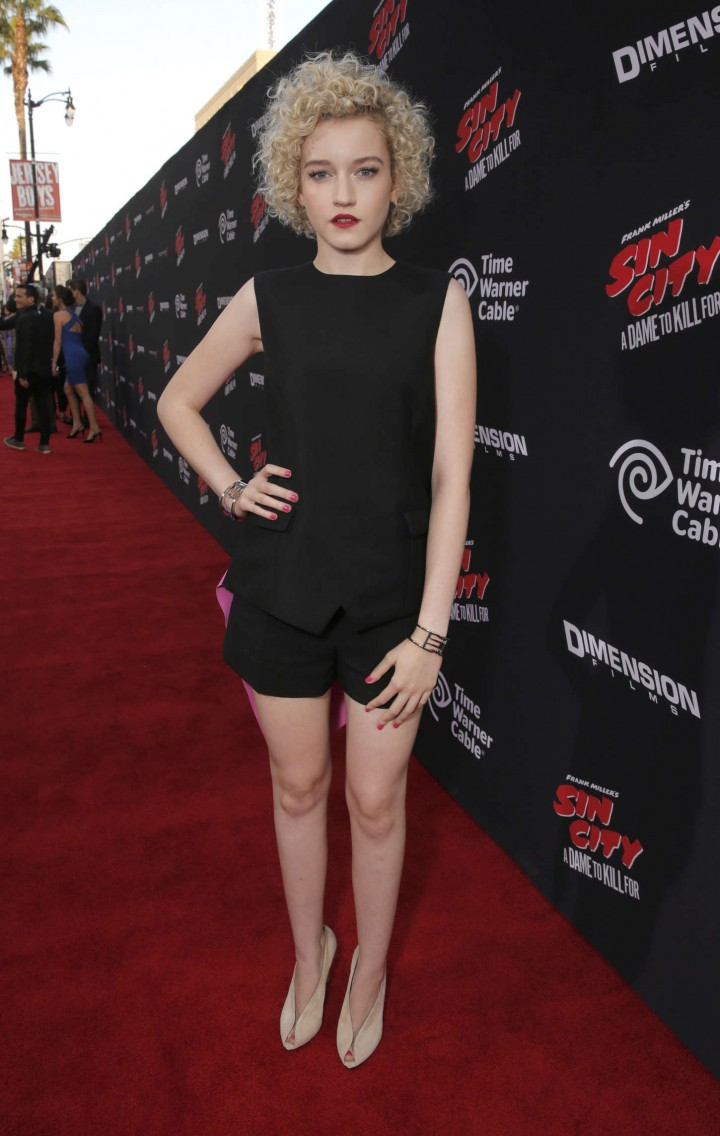 "Julia Garner - Premiere ""Sin City A Dame To Kill For"" in LA"