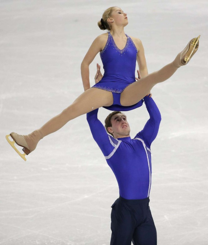Julia Lavrentieva: Sochi 2014 Pairs Short Program -01