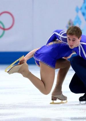 Julia Lavrentieva: Sochi 2014 Pairs Short Program -04