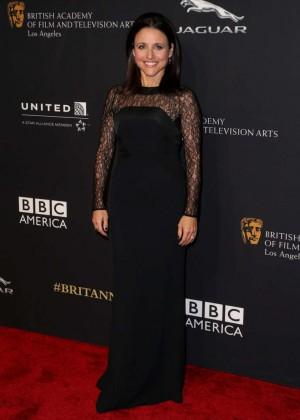 Julia Louis Dreyfus: 2014 BAFTA Los Angeles Jaguar Britannia Awards in Beverly Hills