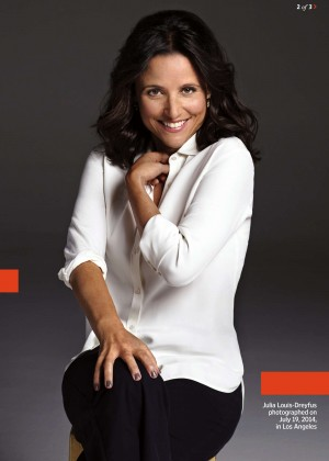 Julia Louis-Dreyfus - Entertainment Weekly Magazine (August 2014)