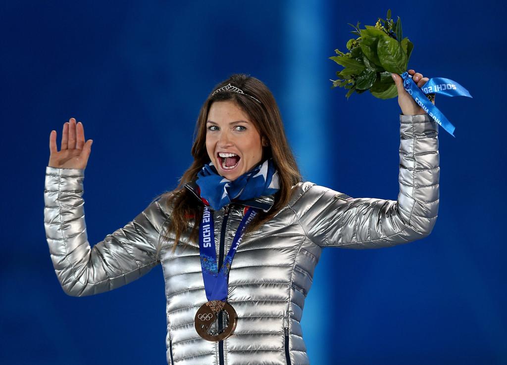 Julia Mancuso: Alpine Skiing Womens Super Combined Medal ...