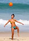 Julia Oristanio - Bikini on the beach in Ipanema - Brazil -02