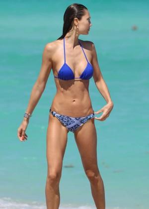 Julia Pereira in a Bikini at Miami Beach-02