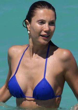 Julia Pereira in a Bikini at Miami Beach-03