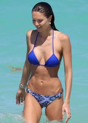 Julia Pereira in a Bikini at Miami Beach-04