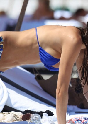 Julia Pereira in a Bikini at Miami Beach-05