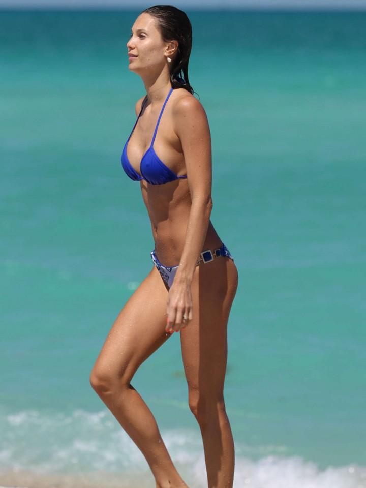 Julia Pereira in a Bikini at Miami Beach-07