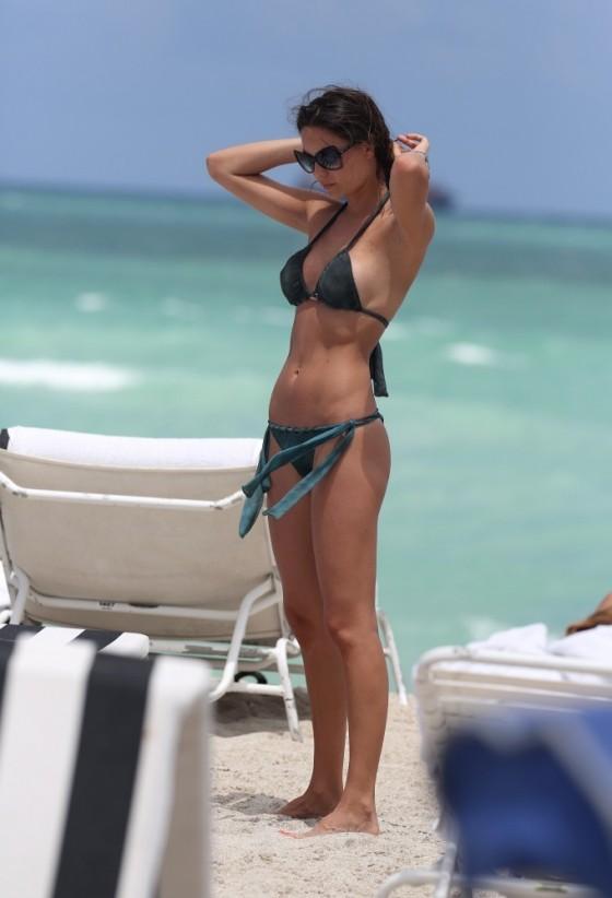 Julia Pereira – wearing a bikini in Miami -11