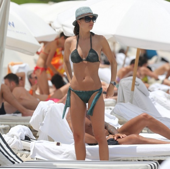 Julia Pereira – wearing a bikini in Miami -27