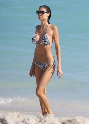 Julia Pereira - Wearing Bikini In Miami-03