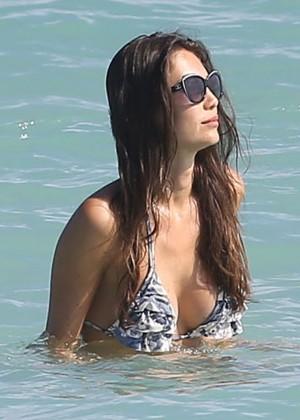 Julia Pereira - Wearing Bikini In Miami-08