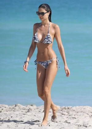 Julia Pereira - Wearing Bikini In Miami-09