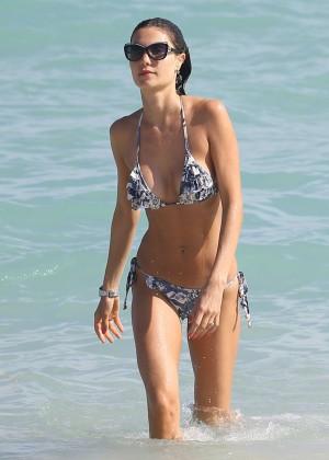 Julia Pereira - Wearing Bikini In Miami-12