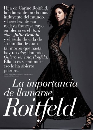 Julia Restoin Roitfeld: Telva Magazine -03