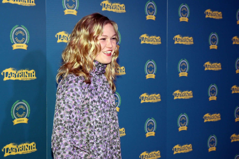 Julia Stiles 2014 : Julia Stiles – Labyrinth Theater Companys Celebrity Charades 2014: Judgement Day -01