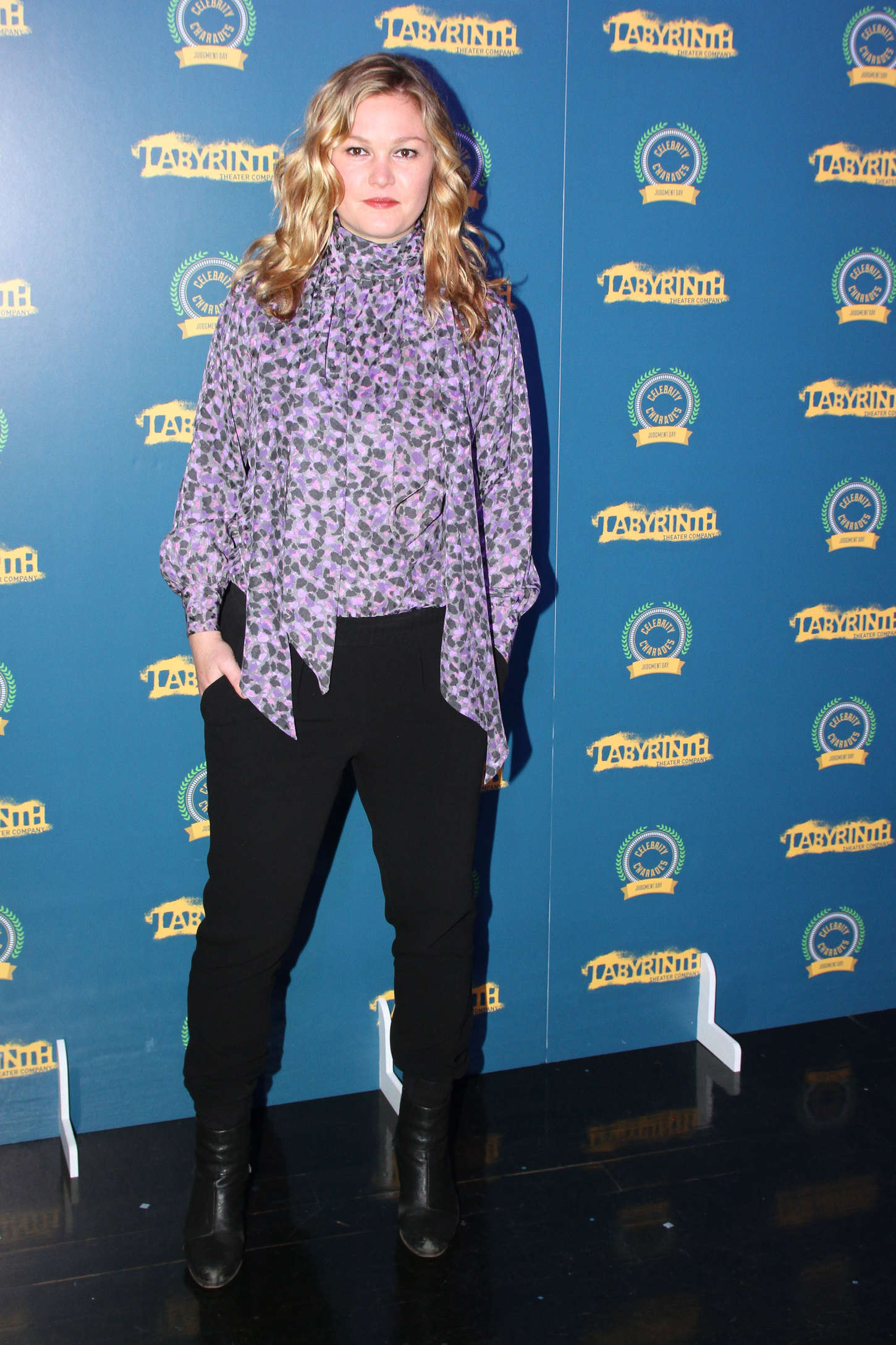 Julia Stiles - Labyrinth Theater Company's Celebrity Charades 2014: Judgement Day in NYC