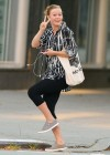Julia Stiles Spandex Candids Going to the Gym