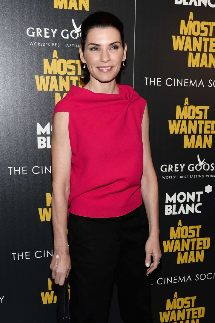 "Julianna Margulies - ""A Most Wanted Man"" Premiere in NYC"