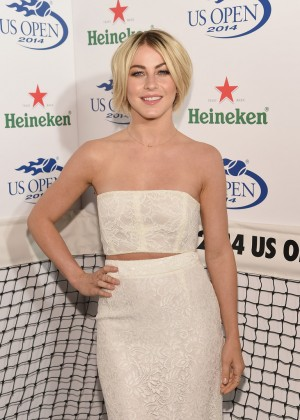 Julianne Hough at 2014 Heineken US Open Kick Off Party