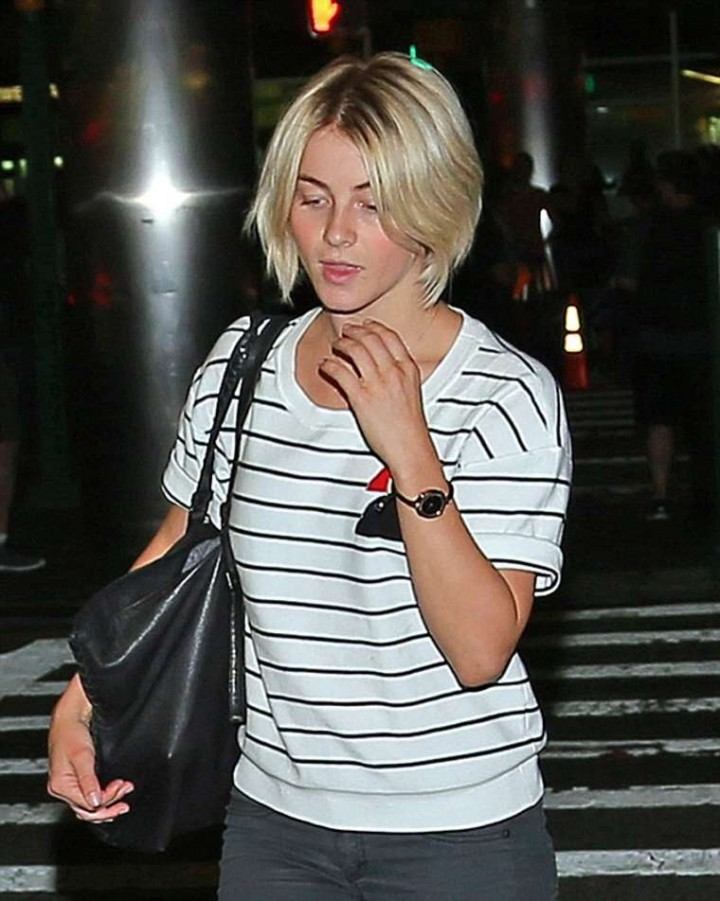 Julianne Hough at LaGuardia Airport in NYC