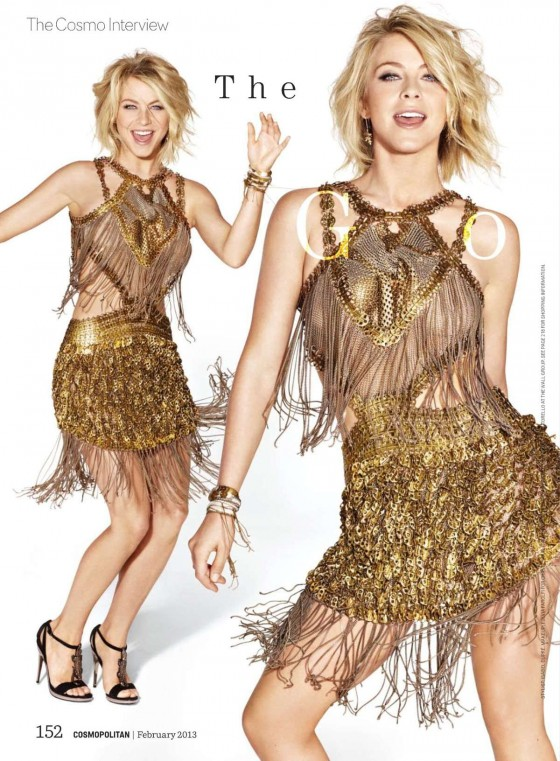 Julianne Hough - Cosmopolitan (February 2013)