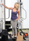 Julianne Hough - on the set of Safe Haven-01