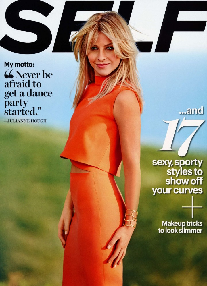 Julianne Hough: Self Magazine -01