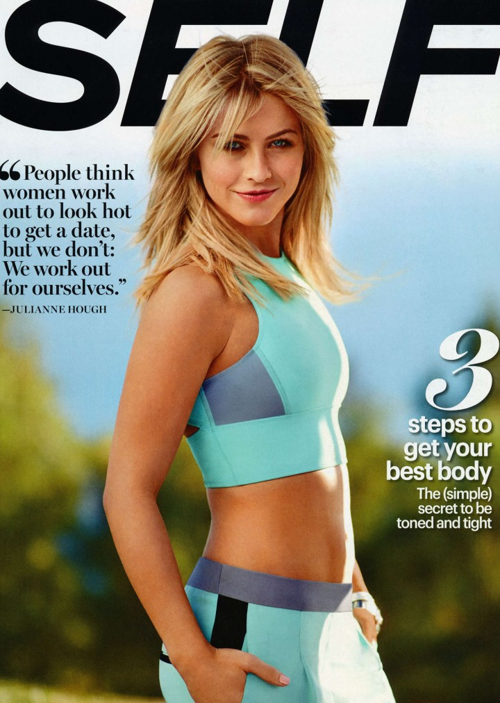 Julianne Hough: Self Magazine -02