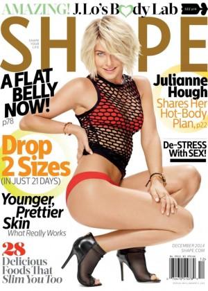 Julianne Hough - Shape Magazine (December 2014)